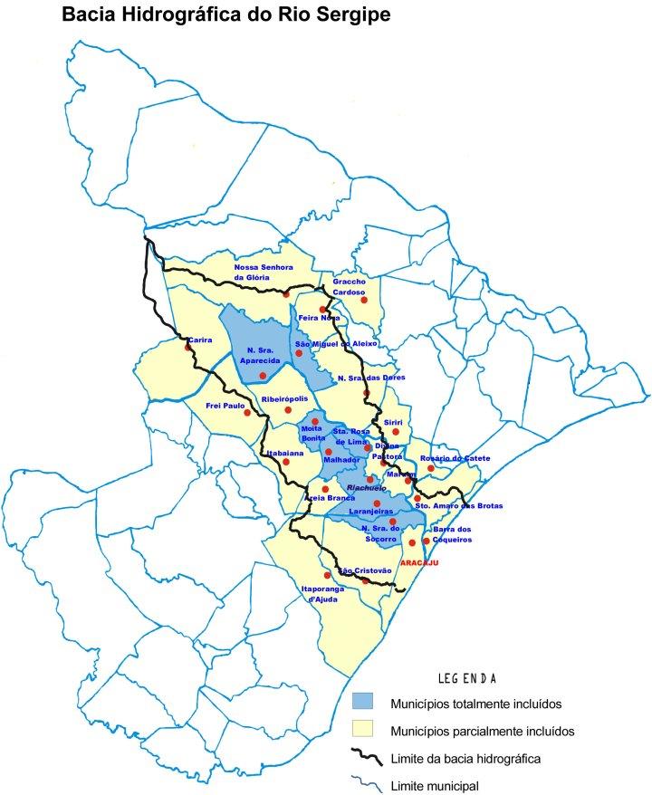 Bacia Hidrográfica do Rio Sergipe